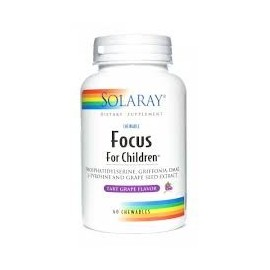 Focus for children - 60 comprimidos masticables