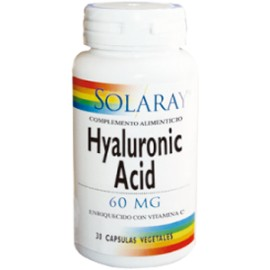 HYALURONIC ACID -acido hialuronico 60 MG - 30 CAP.