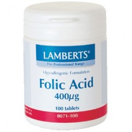 ACIDO FOLICO 400 mg. 100 cap.